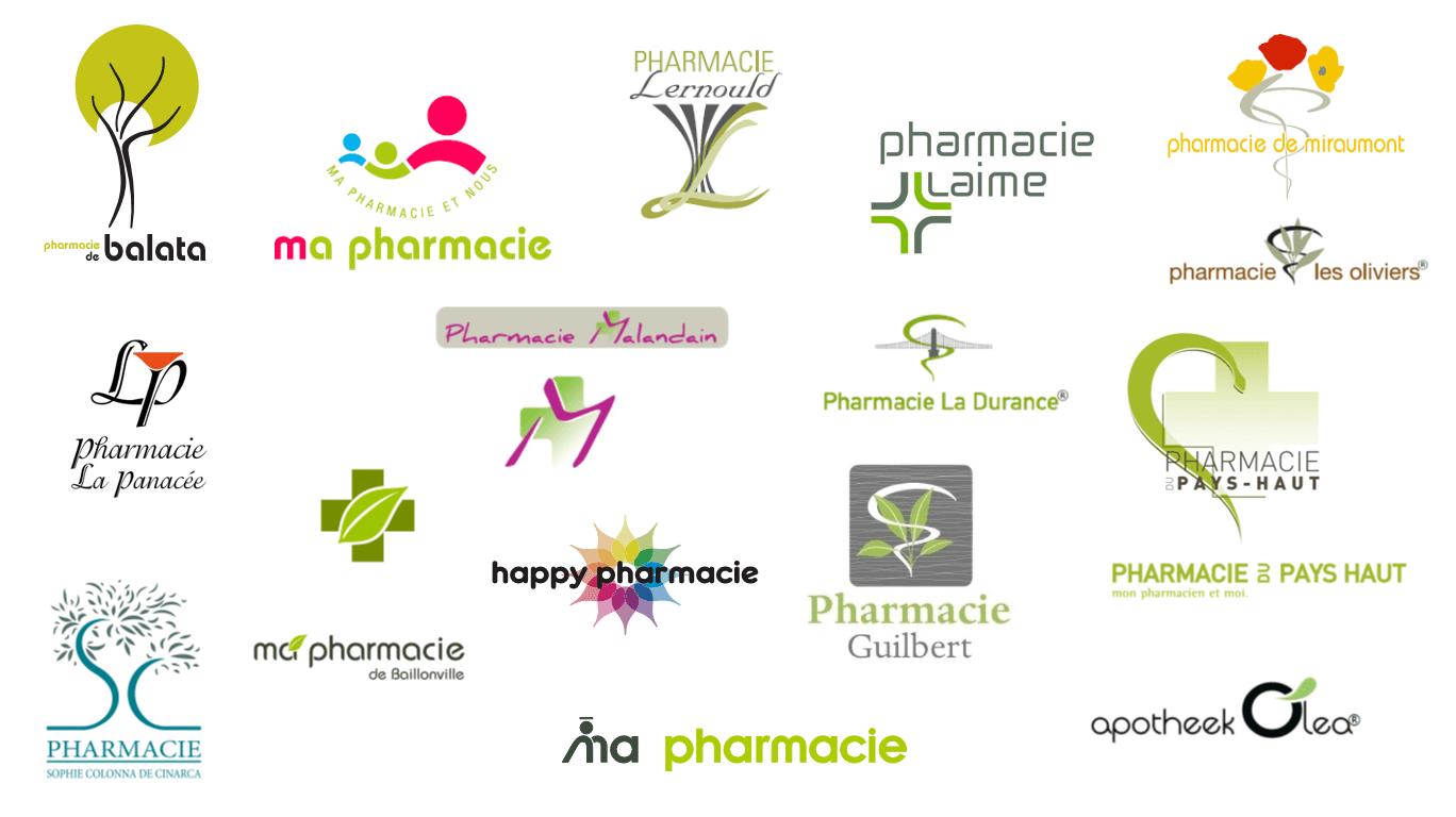 Logos pharmacies